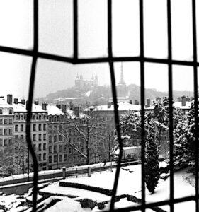 Lyon 1er sous la neige (janvier 2006)